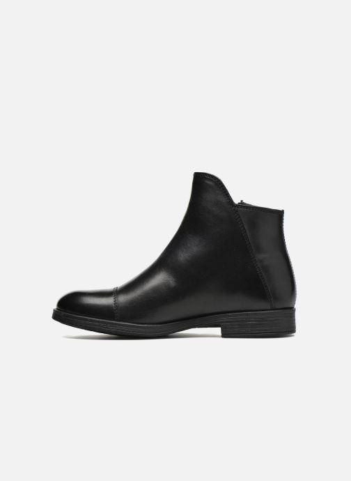 Boots en enkellaarsjes Geox J Agata C J5449C Zwart voorkant