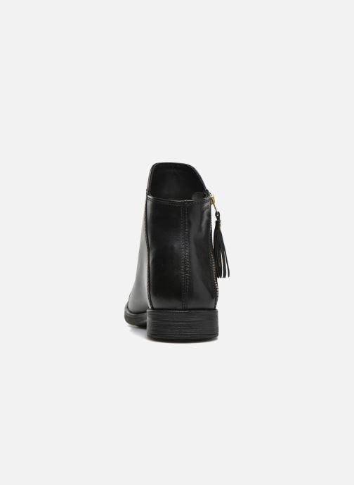 Boots en enkellaarsjes Geox J Agata C J5449C Zwart rechts