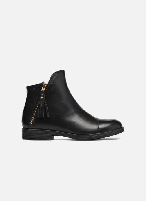 Boots en enkellaarsjes Geox J Agata C J5449C Zwart achterkant