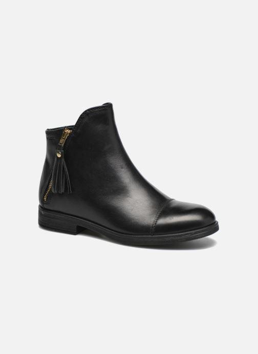 Boots en enkellaarsjes Geox J Agata C J5449C Zwart detail