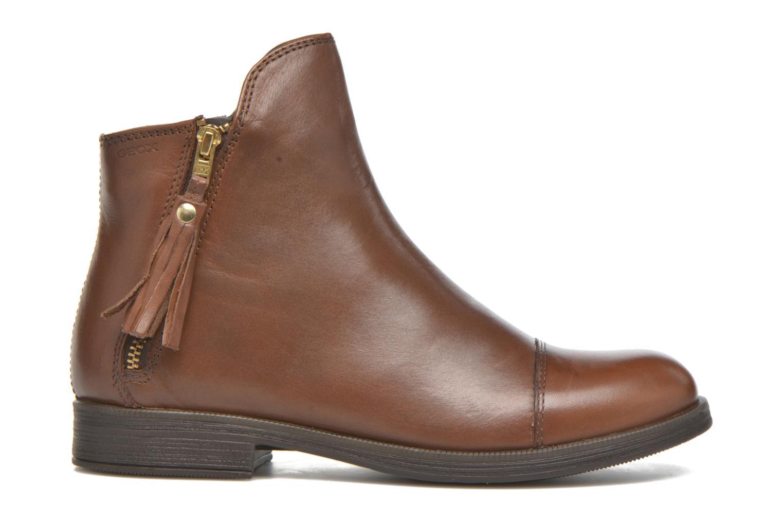 Bottines et boots Geox J Agata C J5449C Marron vue derrière