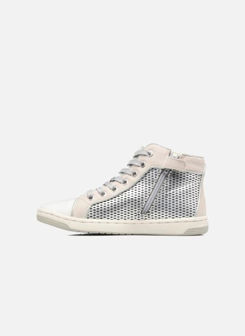 Sneakers Geox J Creamy E J62L5E Zilver voorkant
