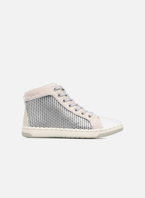 Sneakers Geox J Creamy E J62L5E Zilver achterkant