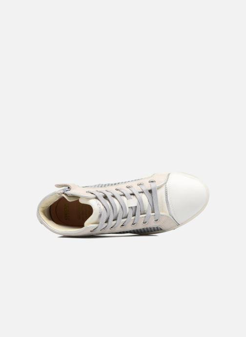 Sneakers Geox J Creamy E J62L5E Zilver links