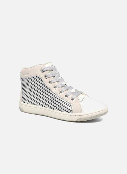 Baskets Geox J Creamy E J62L5E Argent vue détail/paire