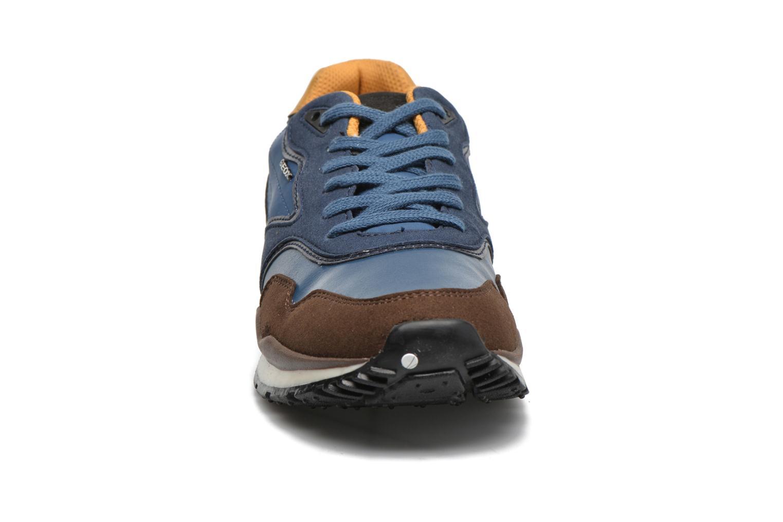 Baskets Geox J Pavel C J6415C Bleu vue portées chaussures