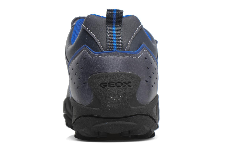 Chaussures à scratch Geox J N.Savage B.A J641VA Noir vue droite