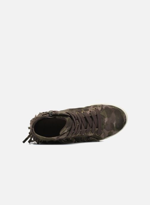 Sneakers Geox J Aveup G. F J641ZF Verde immagine sinistra