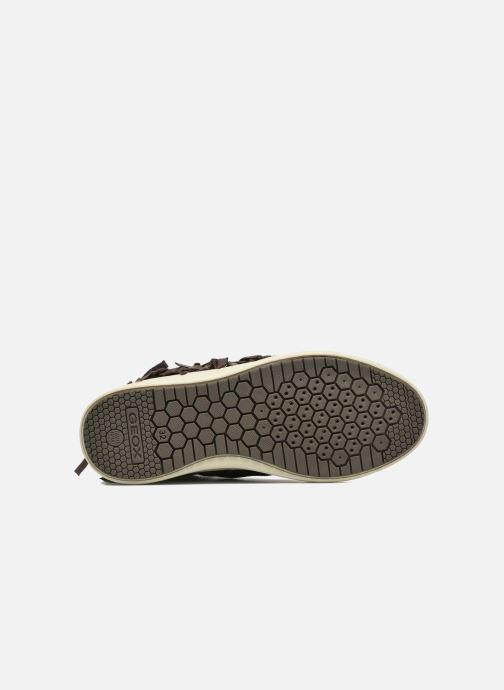 Sneakers Geox J Aveup G. F J641ZF Groen boven
