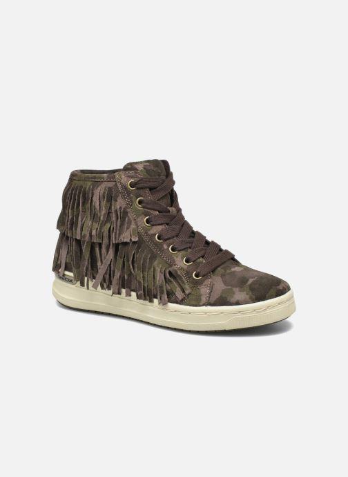 Sneakers Geox J Aveup G. F J641ZF Grøn detaljeret billede af skoene