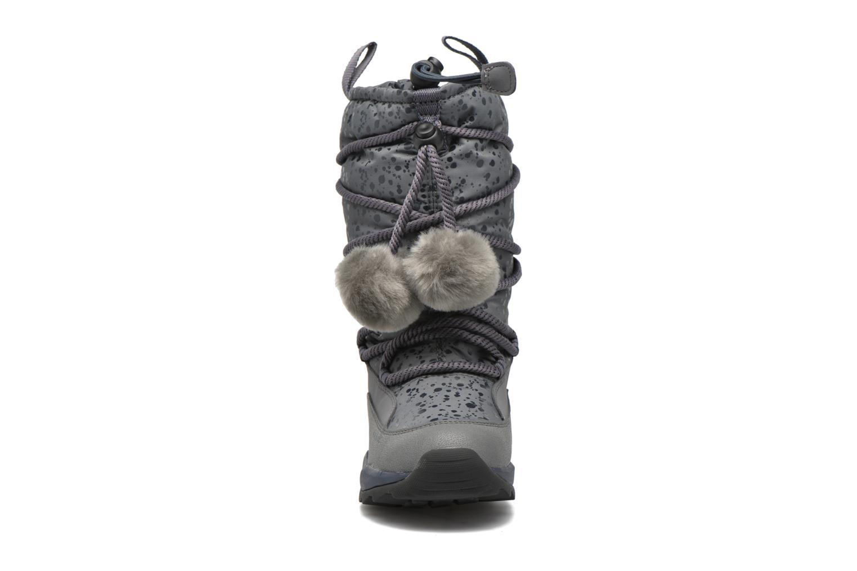 Bottes Geox J Orizont G. Abx A J642BA Gris vue portées chaussures