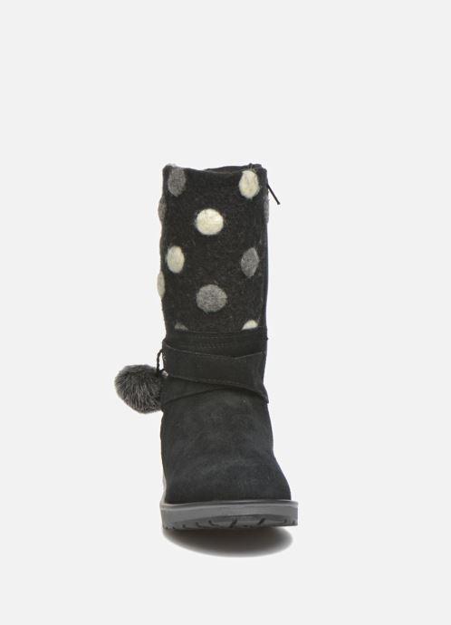Støvler & gummistøvler Geox J Noha A J6460A Sort se skoene på
