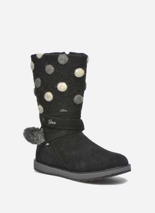 Støvler & gummistøvler Geox J Noha A J6460A Sort detaljeret billede af skoene