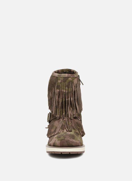 Bottes Geox J Noha C J6460C Vert vue portées chaussures