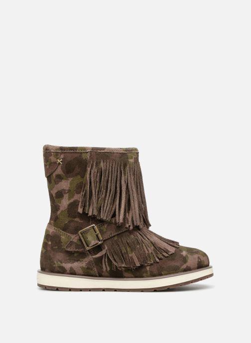 Boots & wellies Geox J Noha C J6460C Green back view