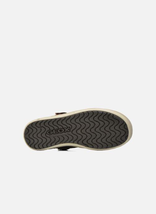 Baskets Geox J Elvis B J64A4B Marron vue haut