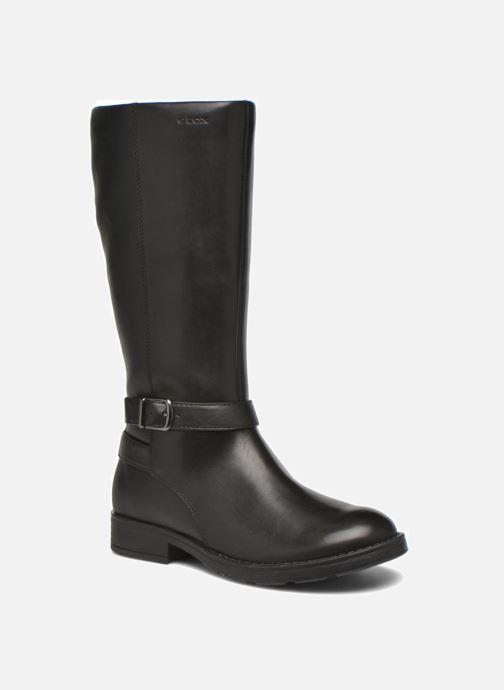Støvler & gummistøvler Geox J Sofia B J64D3B 2 Sort detaljeret billede af skoene