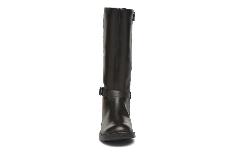 Bottes Geox J Sofia B J64D3B 2 Noir vue portées chaussures
