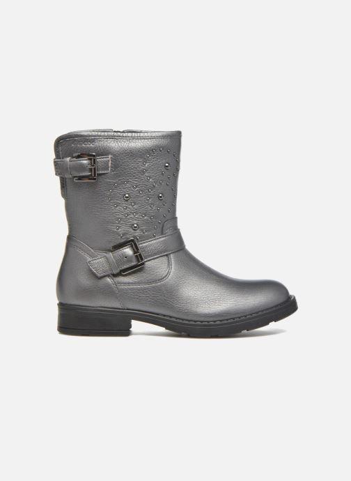 Boots & wellies Geox J Sofia D J64D3D Grey back view