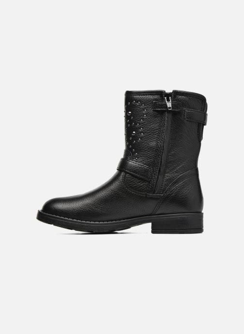Boots & wellies Geox J Sofia D J64D3D Black front view