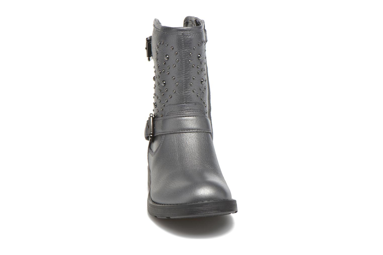 Bottes Geox J Sofia D J64D3D Gris vue portées chaussures