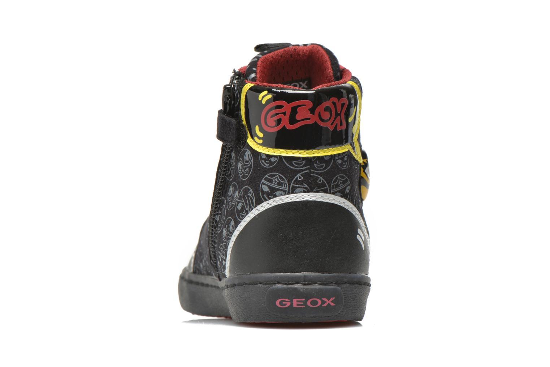 Baskets Geox J Kiwi G. A J64D5A Noir vue droite