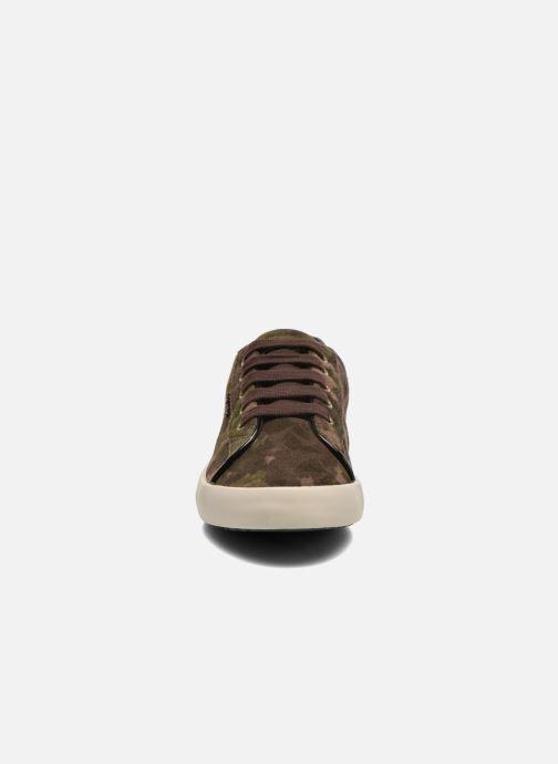 Baskets Geox J Kiwi G. B J64D5B Vert vue portées chaussures