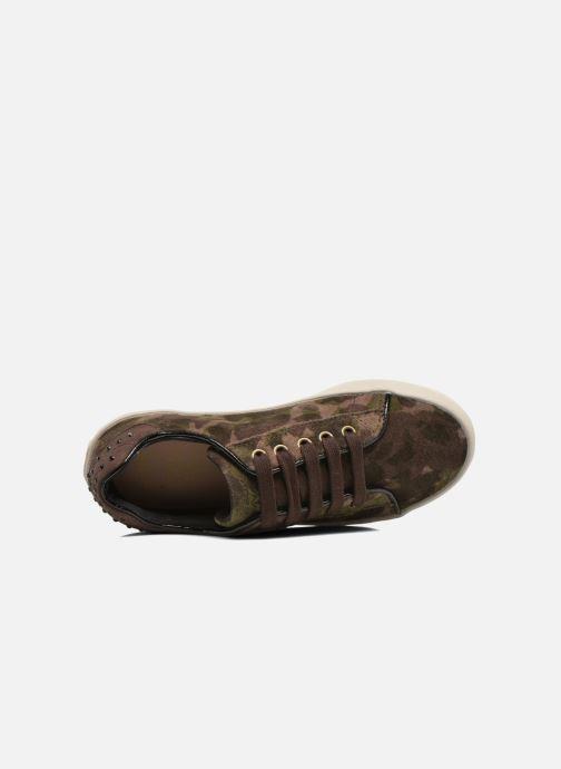 Sneakers Geox J Kiwi G. B J64D5B Groen links