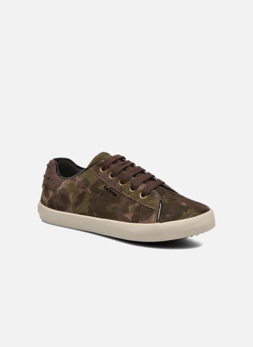 Sneakers Geox J Kiwi G. B J64D5B Groen detail