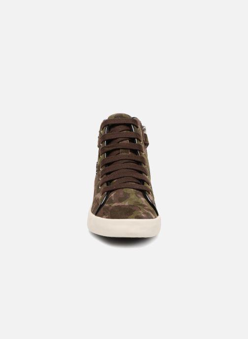 Baskets Geox J Kiwi G. C J64D5C Vert vue portées chaussures