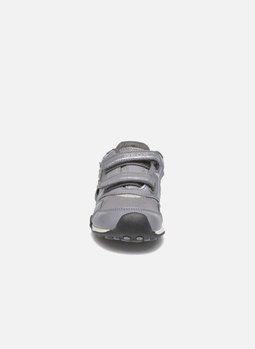Baskets Geox J N.Jocker G.A J64G2A Gris vue portées chaussures