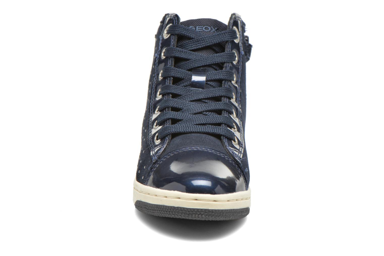 Baskets Geox J Creamy A J64L5A Bleu vue portées chaussures