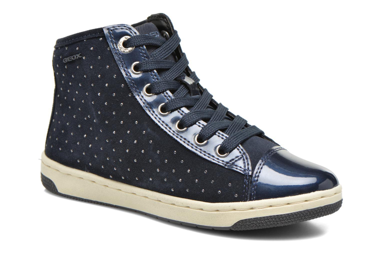 Baskets Geox J Creamy A J64L5A Bleu vue détail/paire
