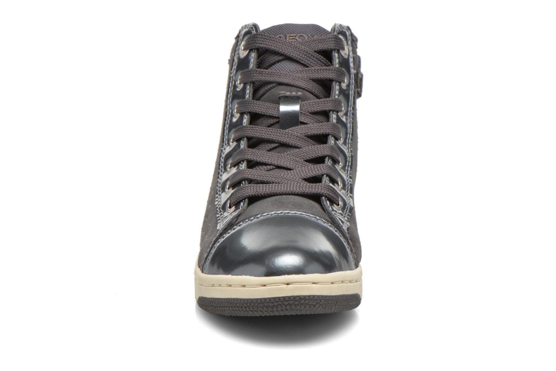 Baskets Geox J Creamy A J64L5A Gris vue portées chaussures