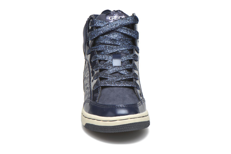 Baskets Geox J Creamy C J64L5C Bleu vue portées chaussures
