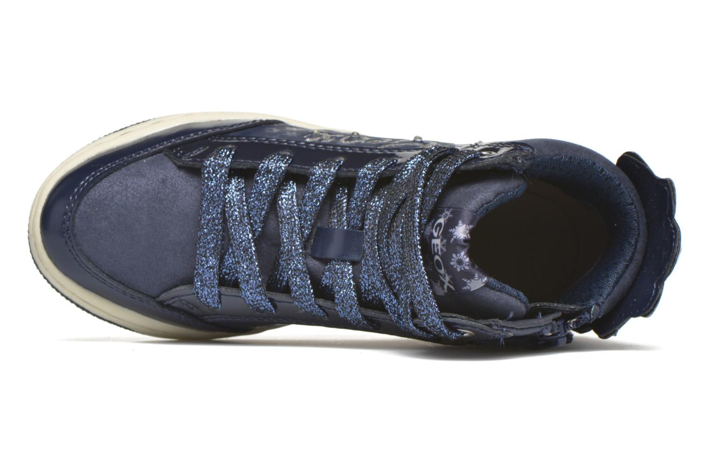Baskets Geox J Creamy C J64L5C Bleu vue gauche