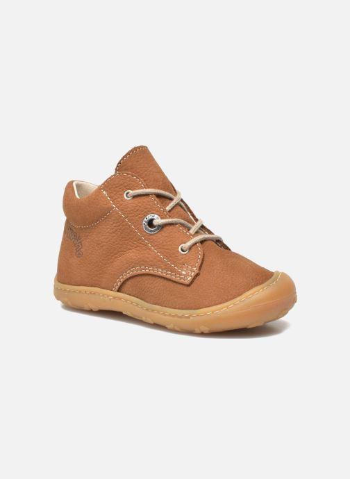 Bottines et boots Pepino Cory Marron vue détail/paire
