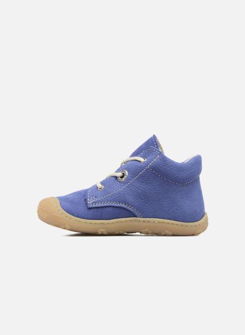 Bottines et boots Pepino Cory Bleu vue face