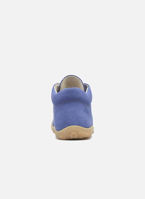 Bottines et boots Pepino Cory Bleu vue droite