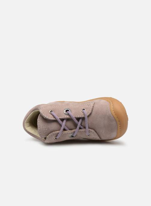 Bottines et boots PEPINO Cory Violet vue gauche