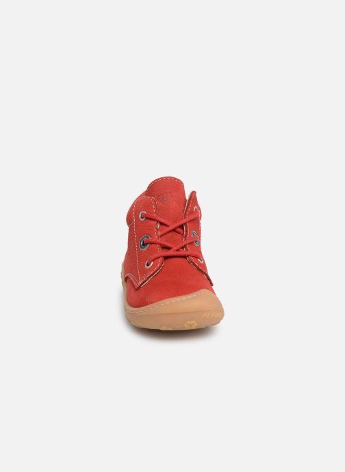 Bottines et boots Pepino Cory Rouge vue portées chaussures