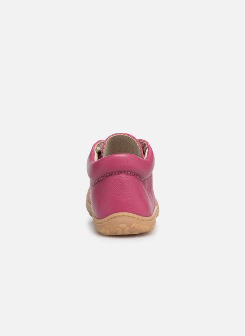 Ankelstøvler Pepino Cory Pink Se fra højre