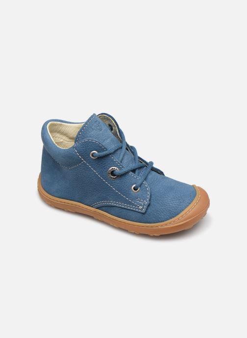 Botines  Pepino Cory Azul vista de detalle / par