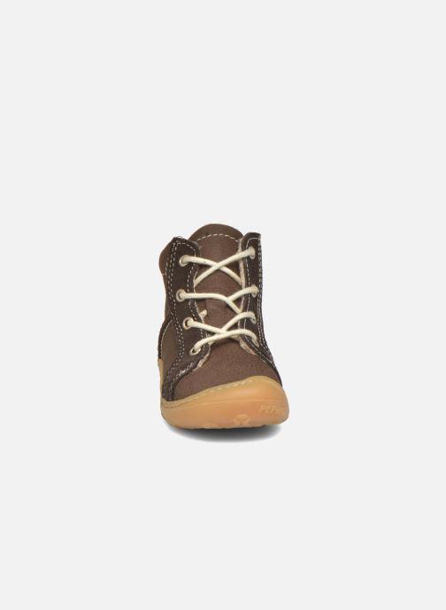 Zapatos con cordones Pepino George Marrón vista del modelo