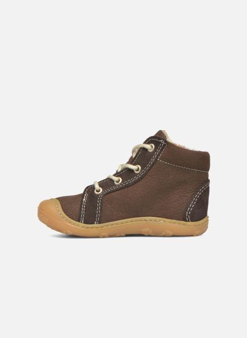 Zapatos con cordones Pepino George Marrón vista de frente