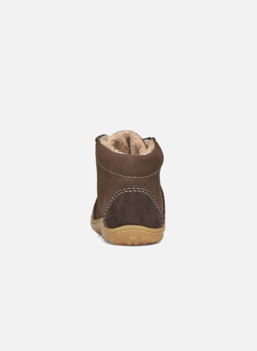 Zapatos con cordones Pepino George Marrón vista lateral derecha