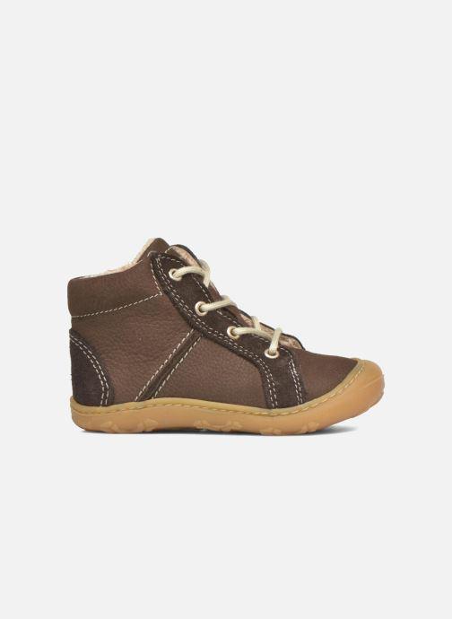Zapatos con cordones Pepino George Marrón vistra trasera