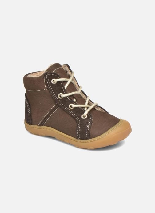 Zapatos con cordones Pepino George Marrón vista de detalle / par