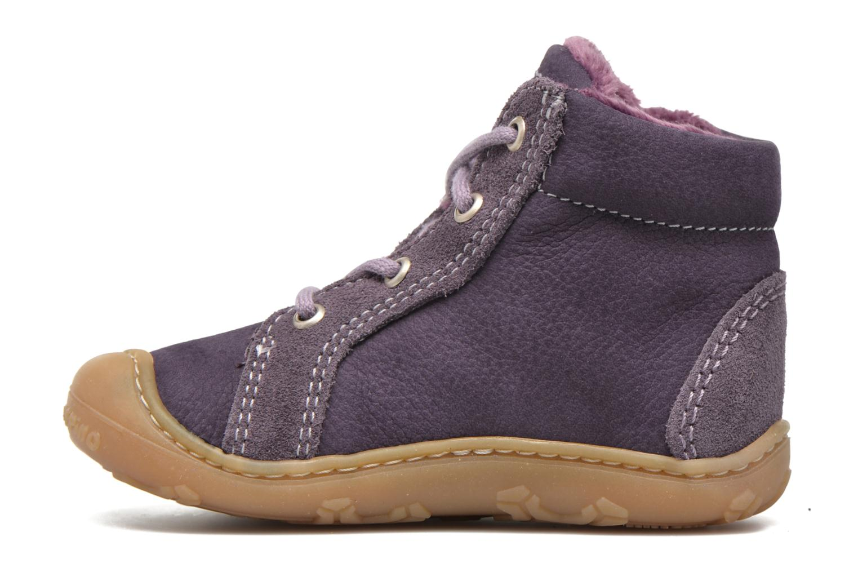 Chaussures à lacets PEPINO George Violet vue face