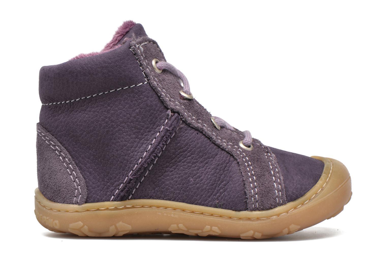 Chaussures à lacets PEPINO George Violet vue derrière